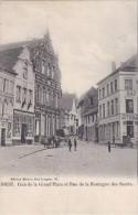 Diest - Coin De La Grand Place Et Rue De La Montagne Des Saints - Diest