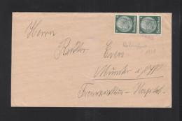 Dt. Reich Brief 1938 Hohenfurt Nach Münster - Briefe U. Dokumente