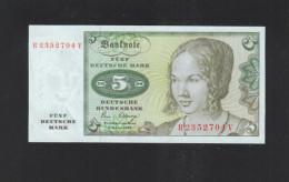 BRD 5 Mark 1980 Bankfrisch - [ 7] 1949-… : RFA - Rep. Fed. De Alemania