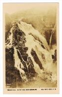 RB 1067 -  Early Real Photo Postcard - Barron Water Falls North Queensland - Australia - Australie