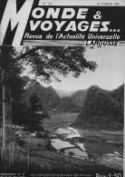 Indochine Monde Et Voyages Larousse N° 100 1935 32 Pages Bien à TB  3 Scans - Magazines & Papers