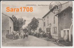 88 CHENIMENIL, Rue De La Gare, Très Animée. ( VOIR SCAN ). - Autres Communes
