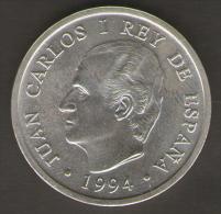 SPAGNA 2000 PESETAS 1994 MADRID ASAMBLEA FMI BM AG SILVER - [ 5] 1949-… : Regno