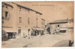 87 - CHALUS - Place De La Fontaine - Chalus
