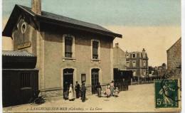 5797 - Calvados - LANGRUNE : LA  GARE   En 1917 - France