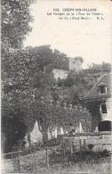 CREPY EN VALOIS - 60 - Les Vestiges De La Tour Du Valois Vus Du Fond Marin - ENCH - - Crepy En Valois