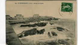 CPA 44 LE BOURG DE BATZ ROCHERS DE LA JETEE - Batz-sur-Mer (Bourg De B.)