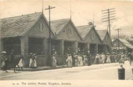 JAMAICA  JAMAIQUE THE JUBLILEE MARKET KINGSTON  1913 - Jamaïque