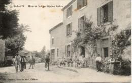 81 Saint Salvy - Hotel Et Café Du Sidobre Estève - Vélo - Chien - Animation - Francia