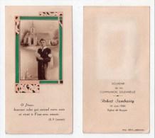 Roujan, Image Pieuse Communion Solennelle Robert Sambussy, 16/06/1946 - Devotion Images