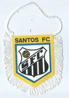Fanion Football L'équipe De Santos FC - Habillement, Souvenirs & Autres