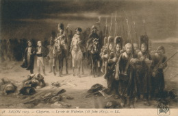 """NAPOLEON - TABLEAU - SALON 1905 - """" Le Soir De Waterloo """" Par CHAPERON - Personnages Historiques"""