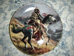 Assiette Décorative. Westen Héritage Museum. Tom Beecham. The Franklin Mint. - Céramiques