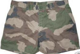 Short Outre-mer Camouflage Armée Française Taille 42 - Uniforms