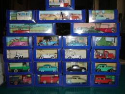 70 Voitures Tintin Collection Complète Avec Certificats éditions Atlas - Tintin