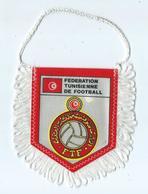 Fanion Football Federation Tunisienne De Football - Apparel, Souvenirs & Other
