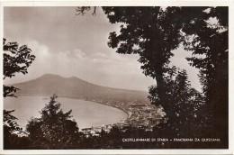 Campania-castellammare Di Stabia Veduta Panorama Da Quisisana Anni/30 - Castellammare Di Stabia