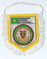 Fanion Football Federation Zairoise De Football - Habillement, Souvenirs & Autres
