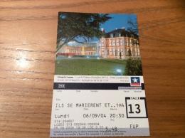 """Ticket De Cinéma KINEPOLIS Lomme (59) """"rue Du Château D'Isenghien"""" - Toegangskaarten"""