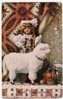 DOLL  Poupée  Puppe   Sheep  Easter  1932y.    A922 - Jeux Et Jouets