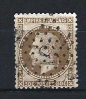 "YT 30 "" Napoléon III Lauré 30c. Brun "" 1867 Etoile 3 - 1863-1870 Napoleon III With Laurels"