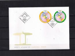Olympische Spelen  2000 , Zwitserland - Briefomslag - Zomer 2000: Sydney
