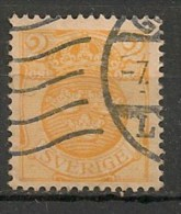 Timbres - Suède - 1911/19 - 2 Ore - - Suède