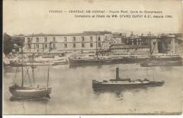 COGNAC , Château De Cognac , Façade Nord , Quais De Chargements , Comptoirs & Chais De MM. OTARD DUPUY & C° - Cognac