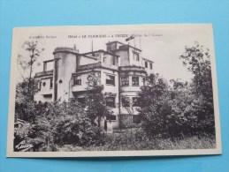 """Hôtel """" LA CLAIRIERE """" Vallée De L'Aisne EREZEE Tél 12 ( Luma ) Anno 19?? ( Zie Foto Voor Details ) !! - Erezée"""