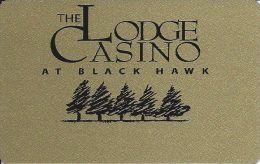Rare Lodge Casino Black Hawk CO 2nd Issue Slot Card - Casino Cards