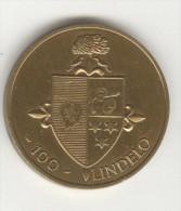 Jeton Des Communes De Belgique - 100 Lindelo 1981 - Lillo - Gemeindemünzmarken