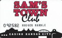 Rare Sam´s Town Kansas City 1st Issue Slot Card - Casino Cards