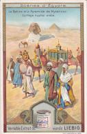 CHROMOS IMAGES.    LIEBIG.  LOT DE 6 .  SCENES D EGYPTE - Liebig