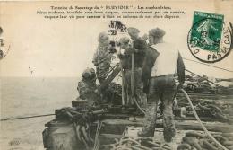 LES SCAPHANDRIERS TENTATIVE DE SAUVETAGE DU PLUVIOSE - France