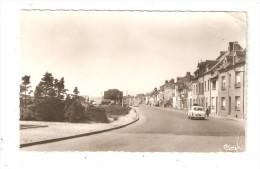 CPA 62 ETAPLES Boulevard De L´Impératrice Maisons  Immeubles Véhicules Années 1950 Peu Commune - Etaples