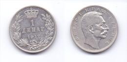 Serbia 1 Dinar 1912 (KM# 25.1) - Serbia