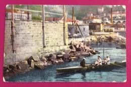 TRIESTE - CANNOTTIERI IN ALLENAMENTO - DUE CON -  VIAGGIATA 1912 - Voile