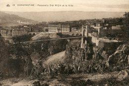 B17483  Constantine , Passerelle Sidi M'Cid - Konstantinopel