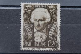 ITALIA USATI 1949 - VITTORIO ALFIERI - RIF. G 1011 - 6. 1946-.. Repubblica