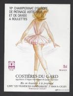 Etiquette De Vin Costières Du Gard - 10 E Championnat D'Europe De Patinage Artistique Et De Danse à Roulettes St Gilles - Unclassified