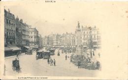 LA GRAND PLACE ET LA COLONNE - Lille