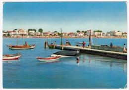 CAORLE - SPIAGGIA DI LEVANTE DALLA DARSENA - VENEZIA - 1960 - Venezia