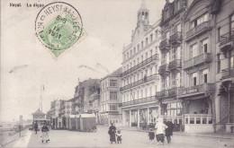 CPA - HEYST - La Digue - Heist
