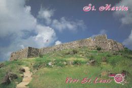 Sint Maarten Fort St. Louis Ruins - Antillen