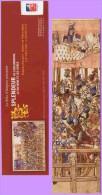 Marque-page °° Ville D'Angers 2009 Splendeur Enluminure Livre Des Tournois  6x20 - Marcapáginas