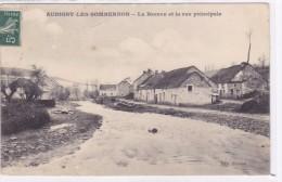 Aubigny-les-Sombernon - La Brenne Et La Rue Principale - France