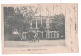 CP Saigon Mode De Locomotion Orientale Pousse Pousse Cachet SAIGON CENTRAL COCHINCHINE 1905 - Viêt-Nam