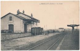 MAILLET - La Gare - Autres Communes