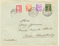 Schweiz, Brief Bern 22. 12. 1934 Misch- Und Buntfrankatur, Nach Berlin Charlottenburg Siehe Scan! - Switzerland