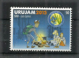 URUGUAY.  Scoutisme En  Uruguay. Un T-p Neuf **  Année 2015 (haute Faciale) - Uruguay